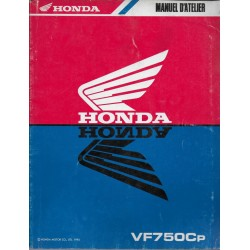 HONDA VF 750 Cp (Manuel de base avril 1993)