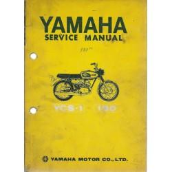 YAMAHA YCS-1 (180c (manuel atelier en anglais)