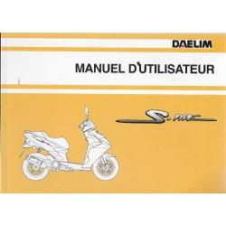 DAELIM S-FIVE 50cc (manuel utilisateur 07/ 2008)
