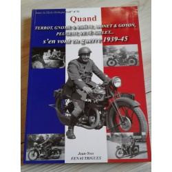 Motos militaires françaises du conflit 1939-1945