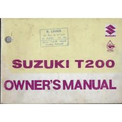 SUZUKI T200 de 1969