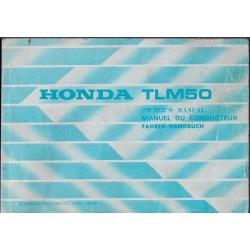 HONDA TLM 50 de 1986