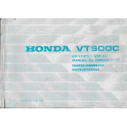 HONDA VT 600 de 1989