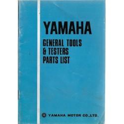 Catalogue outillage général motos YAMAHA (07 / 1975)