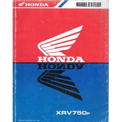 HONDA XRV 750 Africa manuel de base 1993