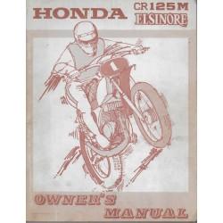 HONDA CR 125 M Elsinore de 1975 type K1