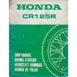HONDA CR 125 R de 1984 (Manuel de base 10 / 83) Type KA3