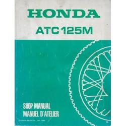 HONDA ATC 125 M 1986 (Manuel de base) 01 / 1986