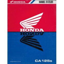 HONDA CA 125 s REBEL (Manuel de base) mars 1995