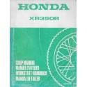 HONDA XR 350 R de 1984 (manuel de base) avril 1983