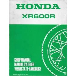 HONDA XR 600 RM de 1991