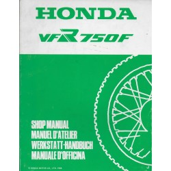 HONDA VFR 750 FJ de 1988 (Additif 03 / 1988)