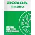 HONDA NX 250 de 1991 (Additif 11 / 1990)