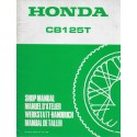 HONDA CB 125 TD de 1988 (Manuel additif janvier 1988)