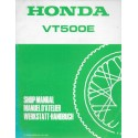HONDA VT 500 EF (Additif février 1985)