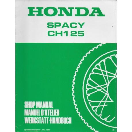 HONDA SPACY CH 125 N de 1993 (additif 07 / 1992)