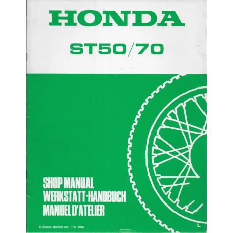HONDA ST 50 L / ST 70 L de 1990 (Additif 04 / 1990)