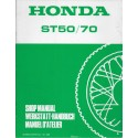 HONDA ST 50 L / ST 70 L de 1990 (Additif 04 / 1990)