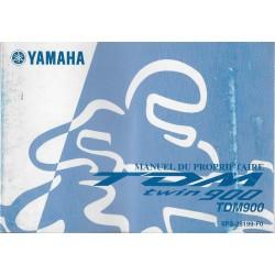 YAMAHA TDM 900 de 2002 Type 5PS (10 / 2001)