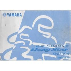 YAMAHA XVS 1100 A de 2003 type 5KS (11 / 2002)