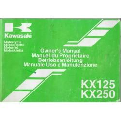 KAWASAKI KX 125-M1 / KX 250-M1 de 2003