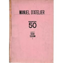 HONDA SS 50 / SS 50 M de 197 (Manuel atelier 09 / 1967)