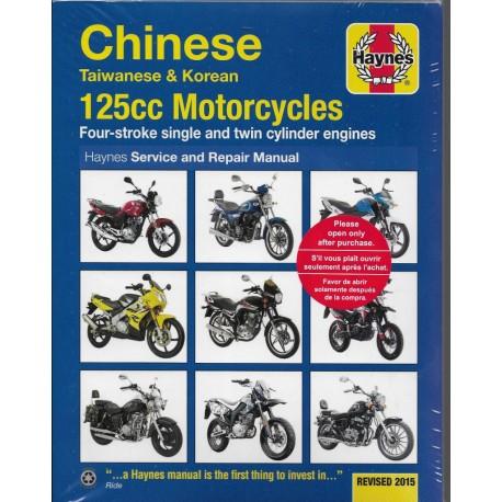 Manuel HAYNES 125cc Chinoises, Coréennes, Taiwanaises