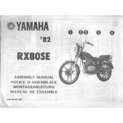 YAMAHA RX 80 1982 (assemblage 12 / 1981) type 12M