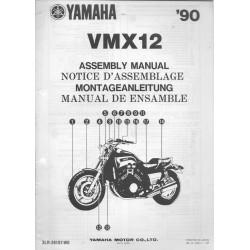 YAMAHA VMX 12 1990 (assemblage 09 / 1989) type 3LR
