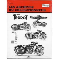 TERROT 125 / 350 / 500 de 1947 à 1958