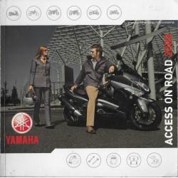 Catalogue gamme YAMAHA accessoires routières de 2008