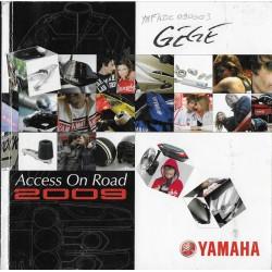 Catalogue gamme YAMAHA accessoires routières de 2009