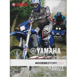 Catalogue gamme YAMAHA Tout-Terrain de 2004