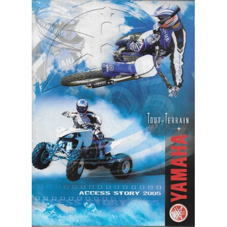 Catalogue gamme YAMAHA Tout-Terrain de 2005