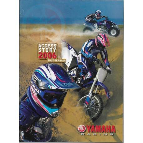 Catalogue gamme YAMAHA Tout-Terrain de 2006