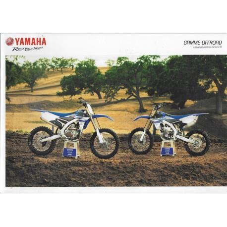 Catalogue gamme YAMAHA Tout-Terrain de 2015