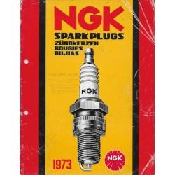 Catalogue bougies NGK de 1973