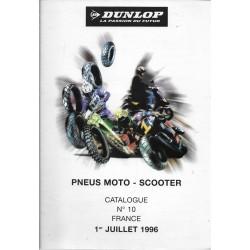 Catalogue pneus DUNLOP (07 / 1996)