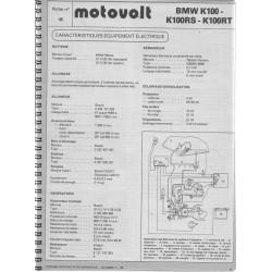 Manuel de 47 fiches MOTOVOLT originales (1977 / 1986)