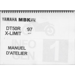 YAMAHA DT 50 R / X-LIMIT 1997