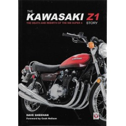 The KAWASAKI Z1 Story de Dave SHEEHAN