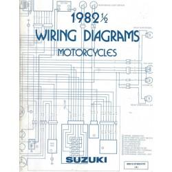 Manuel schémas électriques SUZUKI 1982