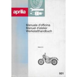 APRILIA Moto' 6.5 (manuel atelier 10 / 1996)