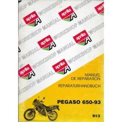 APRILIA Pégaso 650-93 (manuel atelier)