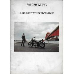 Manuel atelier SUZUKI VS 750 GLPG de 1986