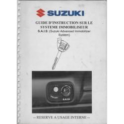 Manuel instructions S.A.I.S SUZUKI de 2005