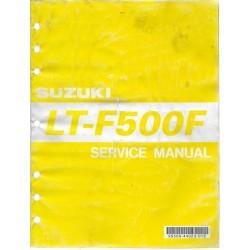 Manuel atelier SUZUKI LT-F 500 F 1998 à 2001 (W, X, Y, K1)