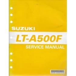 Manuel atelier SUZUKI LT-A 500 FY et FK1 (12 / 2000)