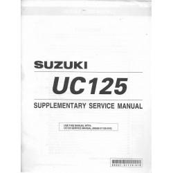 SUZUKI UC 125 Y modèle 2000 (01 / 2000)