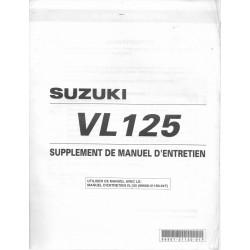 SUZUKI VL 125 K2 modèle 2002 (12 / 2001)